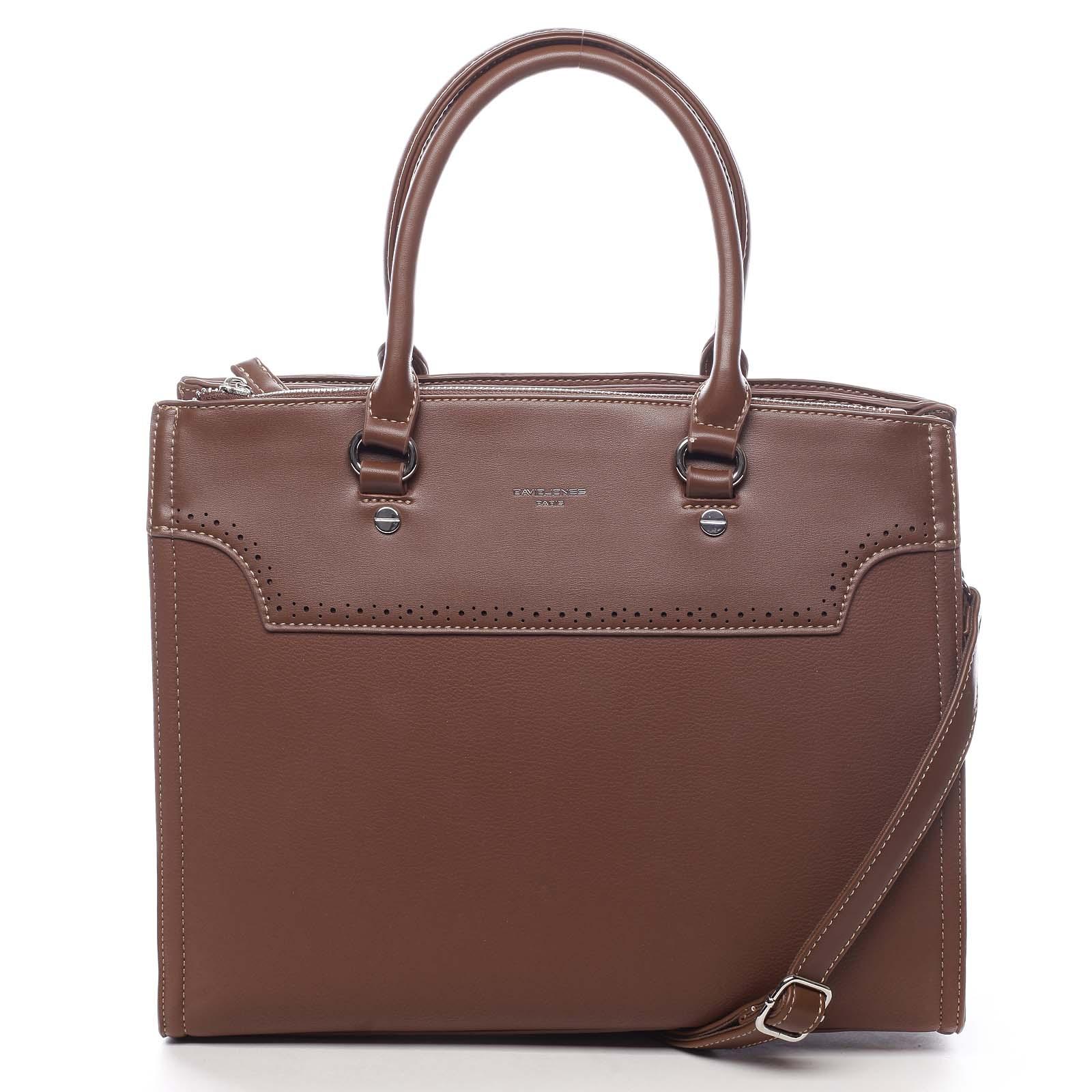 Dámska kabelka hnedá - David Jones Cimberly hnedá