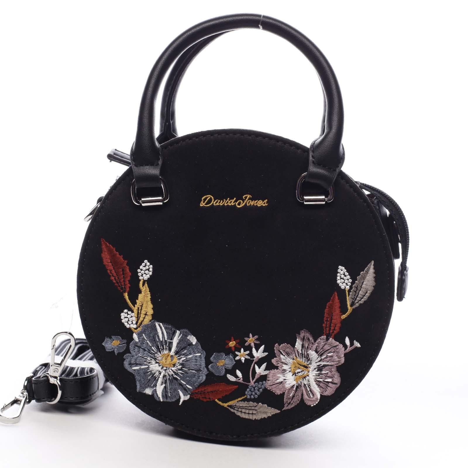 Dámska kabelka do ruky čierna - David Jones Foundie čierna