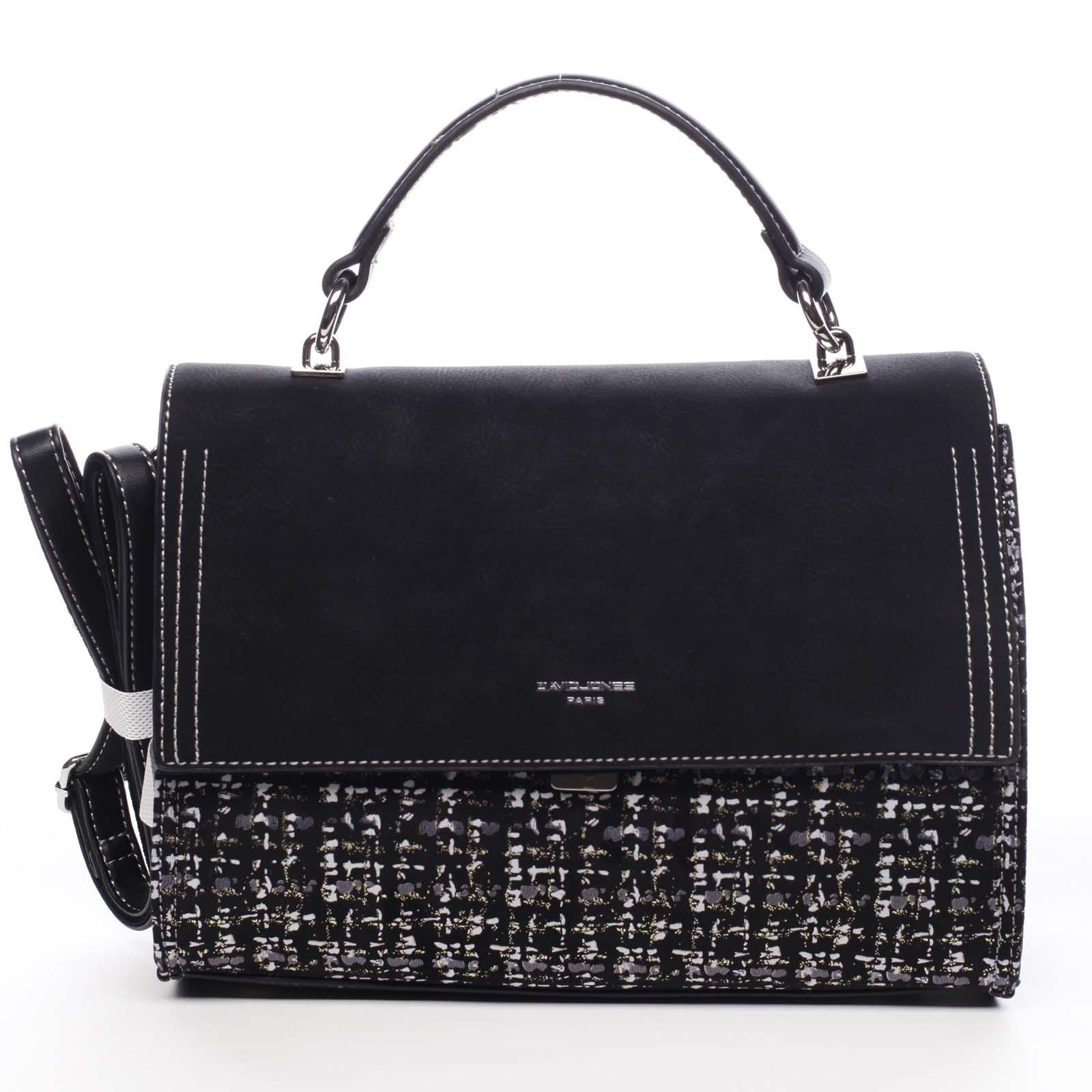 Dámska kabelka do ruky čierna - David Jones Woawa čierna