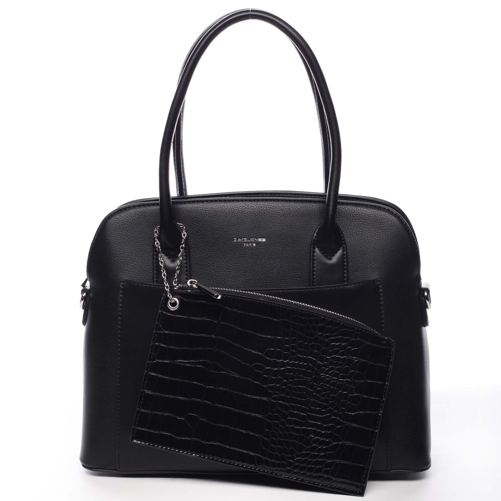 Dámska kabelka čierna - David Jones Caleed čierna