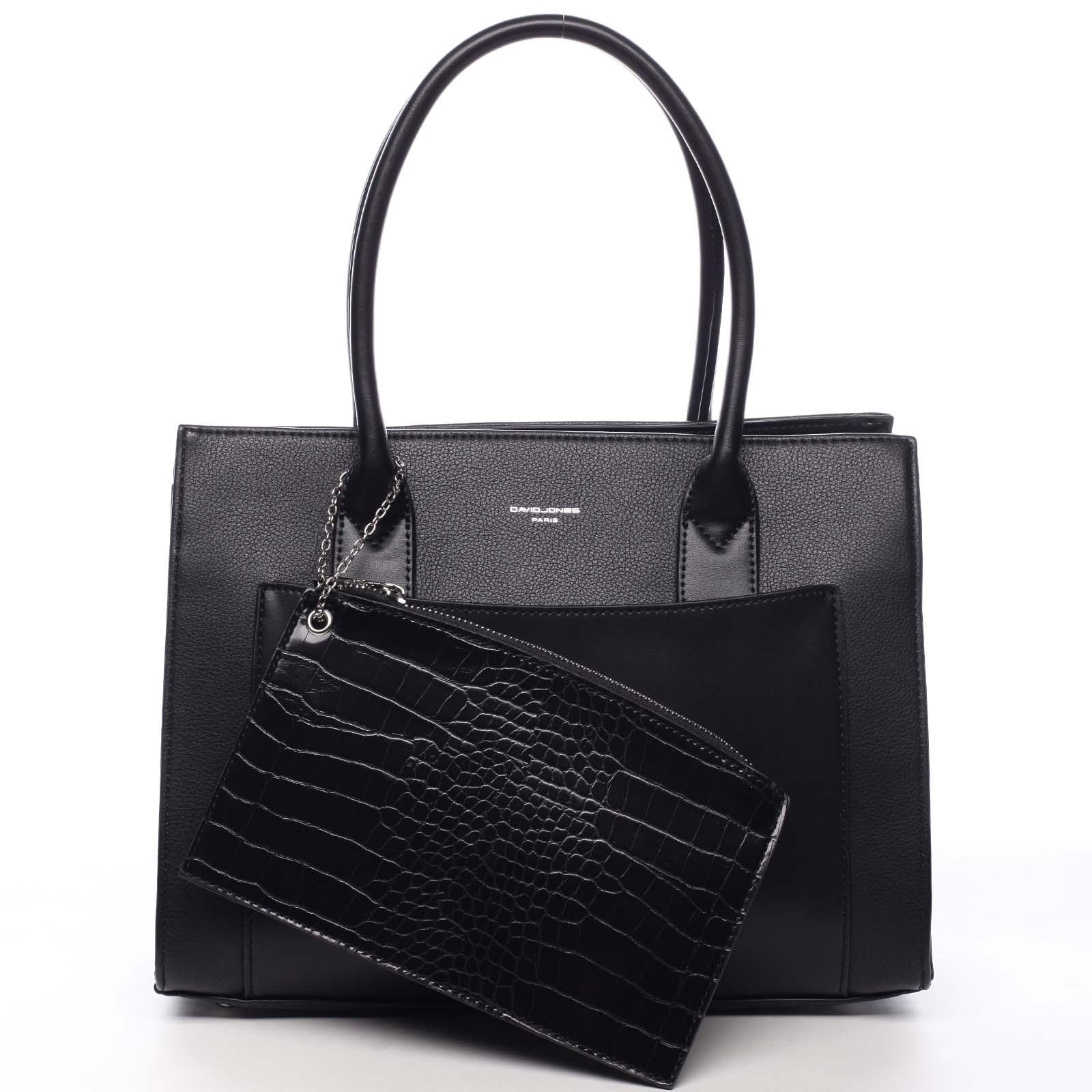 Dámska kabelka cez rameno čierna - David Jones Gilsia čierna