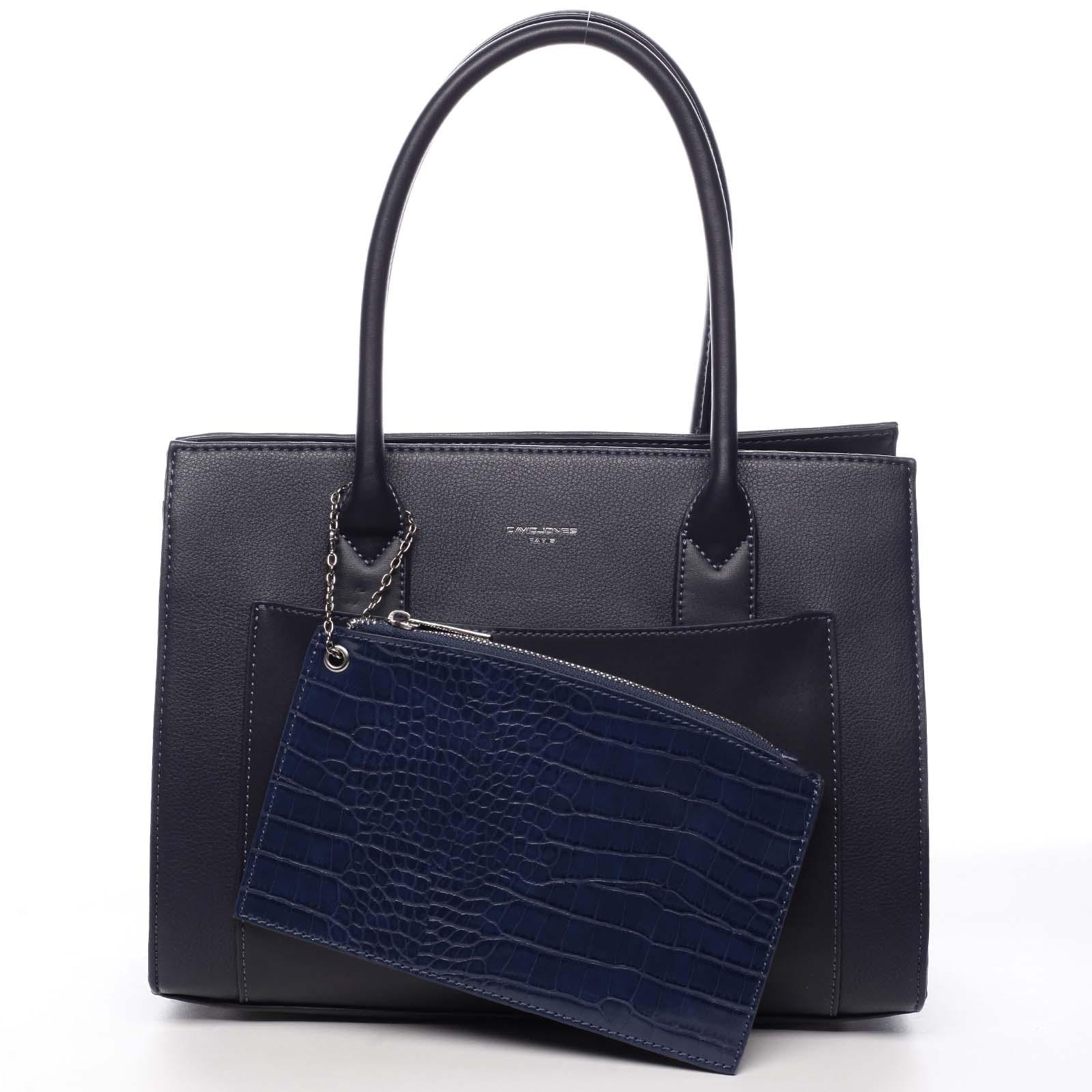 Dámska kabelka cez rameno tmavo modrá - David Jones Gilsia modrá
