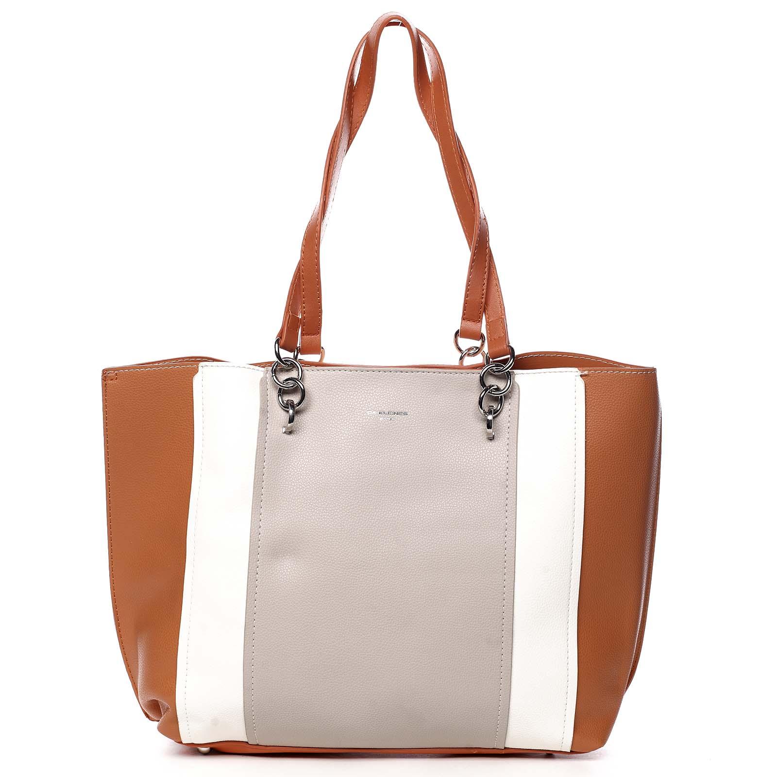 Dámska kabelka cez plece oranžová - David Jones Reason oranžová