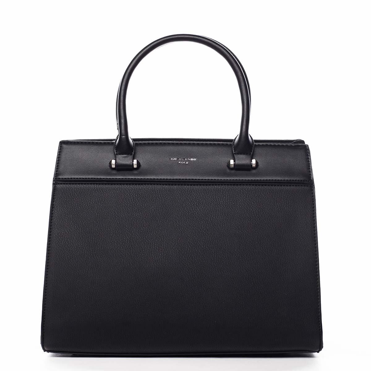 Dámska kabelka do ruky čierna - David Jones Tenerwa čierna