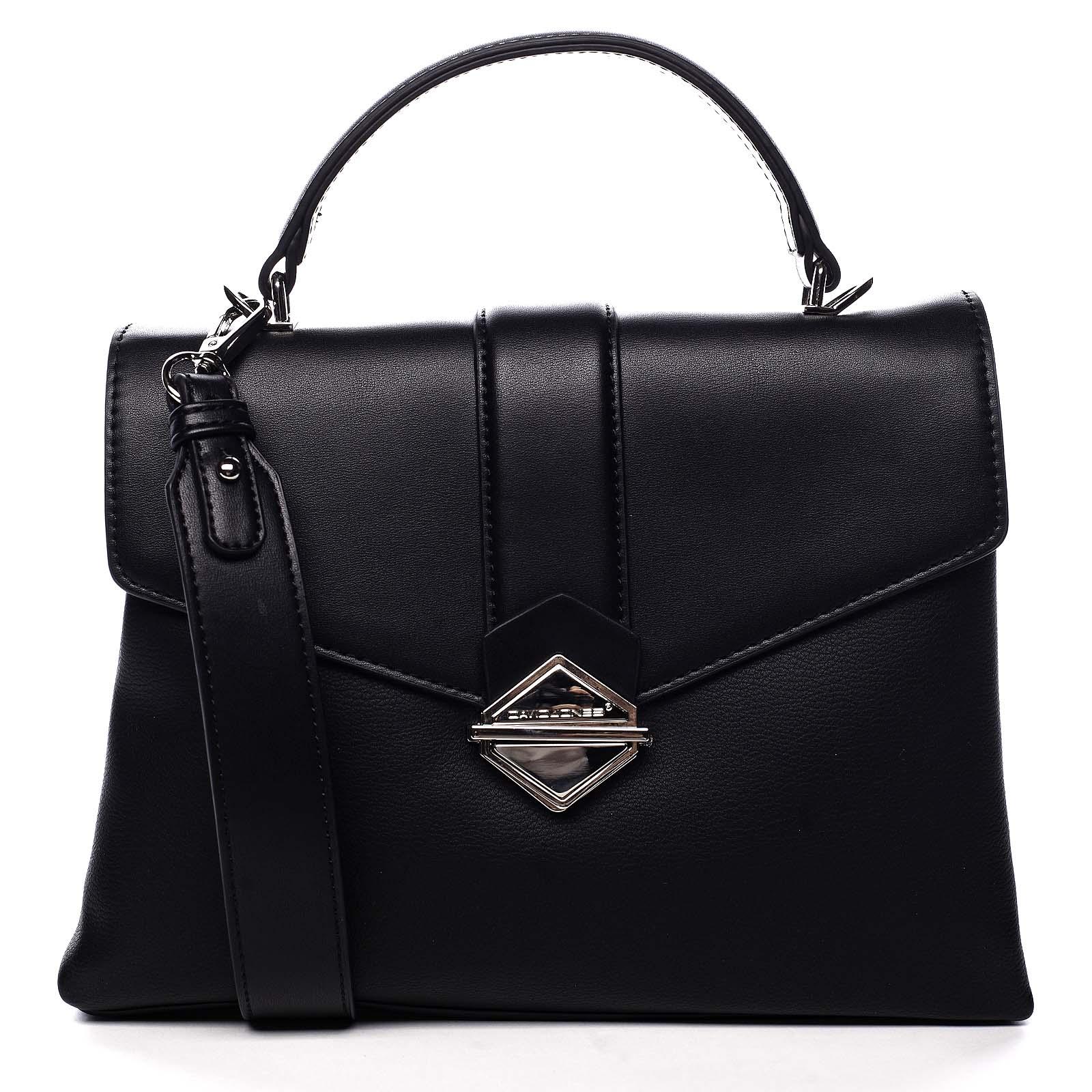 Dámska kabelka do ruky čierna - David Jones Africa čierna