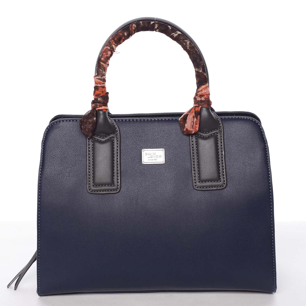 Štýlová trendy dámska kabelka do ruky tmavomodrá - David Jones Crescent modrá