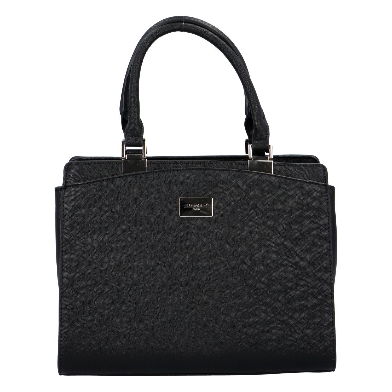 Dámska elegantná kabelka do ruky čierna - FLORA&CO Stanleily čierna
