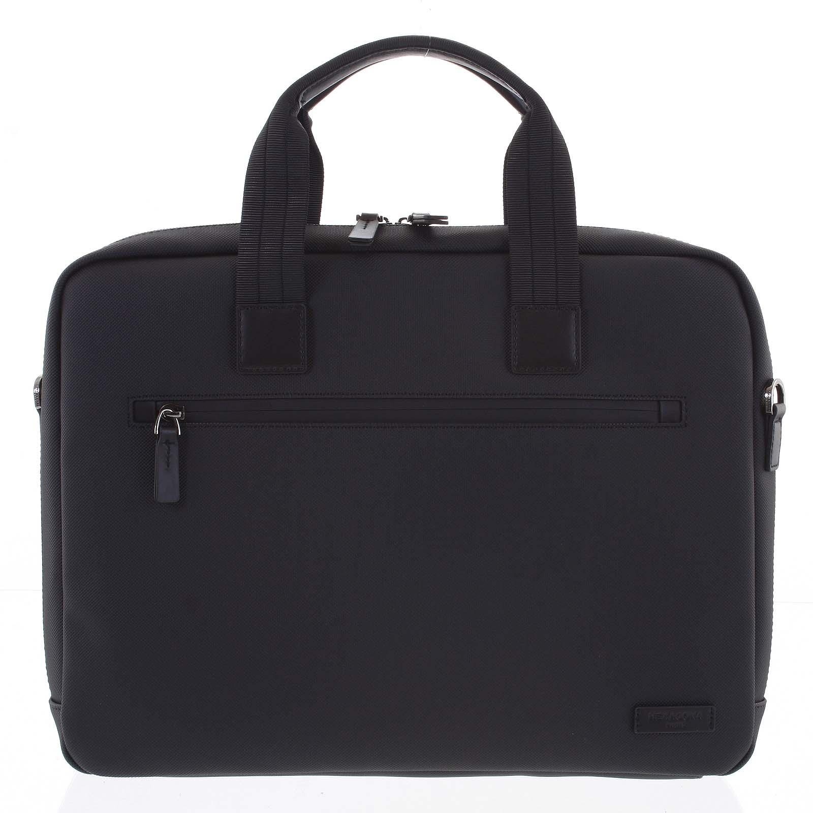 Taška na notebook čierna - Hexagona Aswin čierna