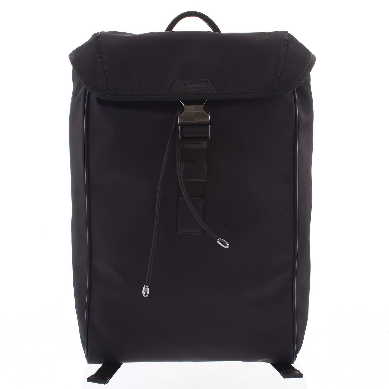 Veľký batoh na notebook čierny - Hexagona Bankey čierna