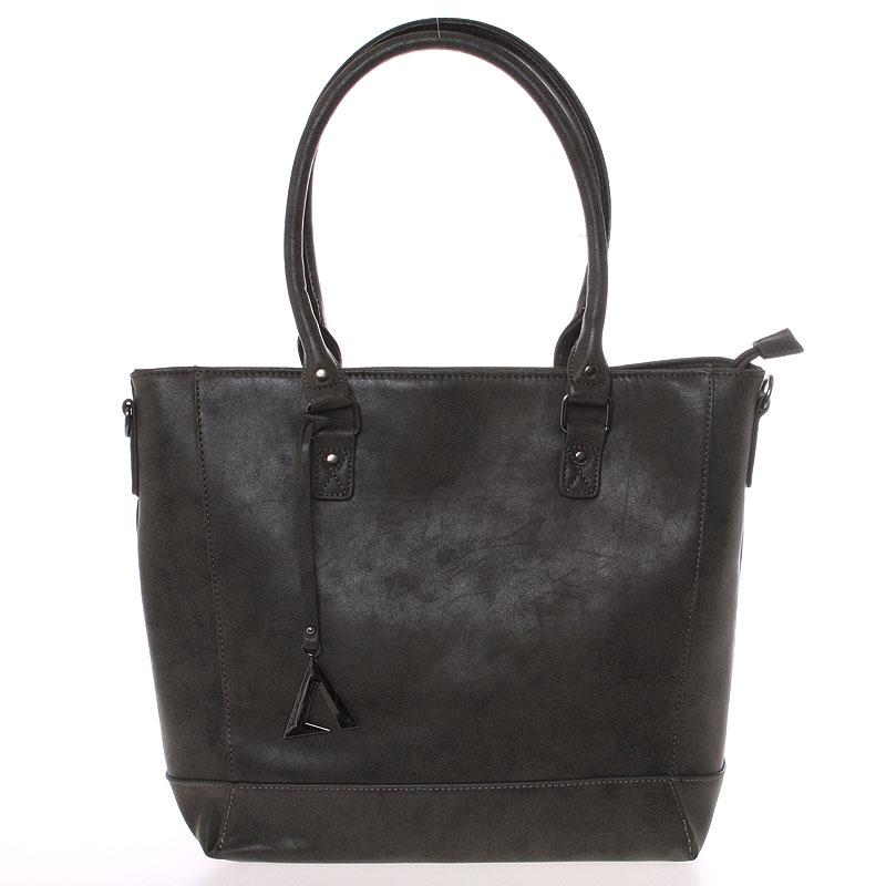 Módna kabelka cez rameno tmavo šedá - Just Dreamz Brooke šedá
