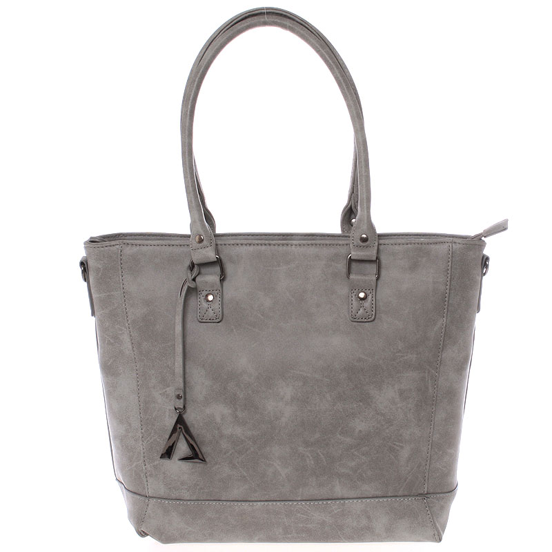 Módna kabelka cez rameno šedá - Just Dreamz Brooke šedá