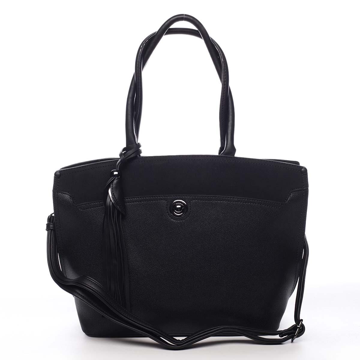 Dámska kabelka cez rameno čierna - Maria C. čierna