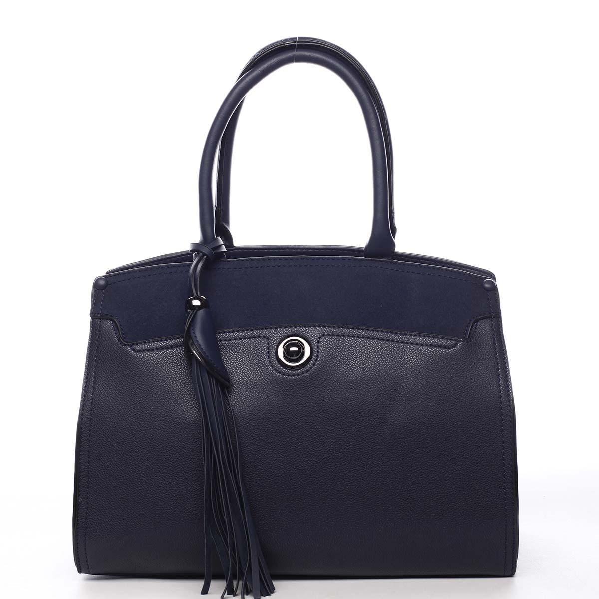 Dámska kabelka do ruky tmavomodrá - Maria C Toxic modrá