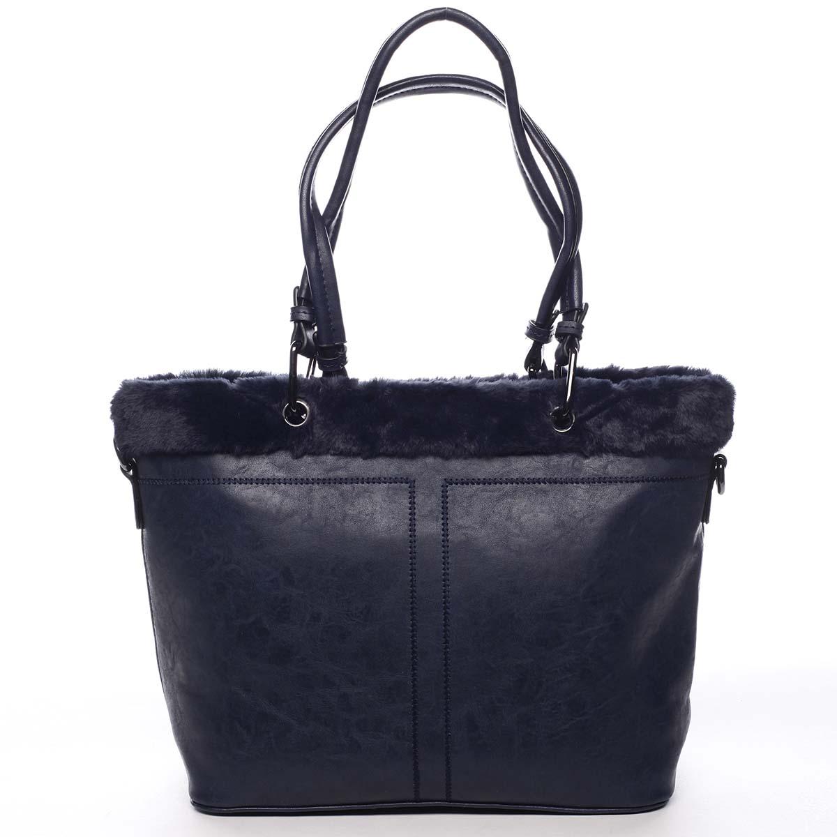 Dámska kabelka cez rameno tmavo modrá - Maria C Lyra modrá