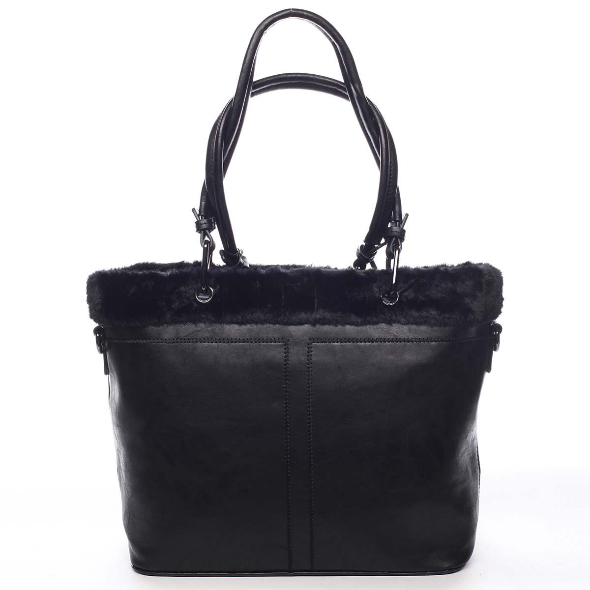 Dámska kabelka cez plece čierna - Maria C Lyra čierna