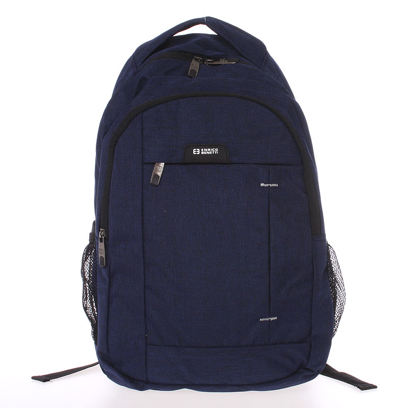 Moderný modrý ruksak do školy - Enrico Benetti Acheron modrá