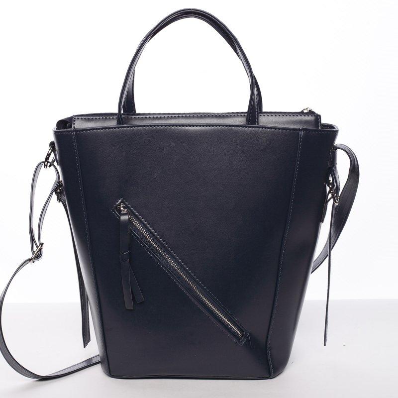 Moderná dámska kabelka do ruky tmavomodrá - Delami Maryam modrá
