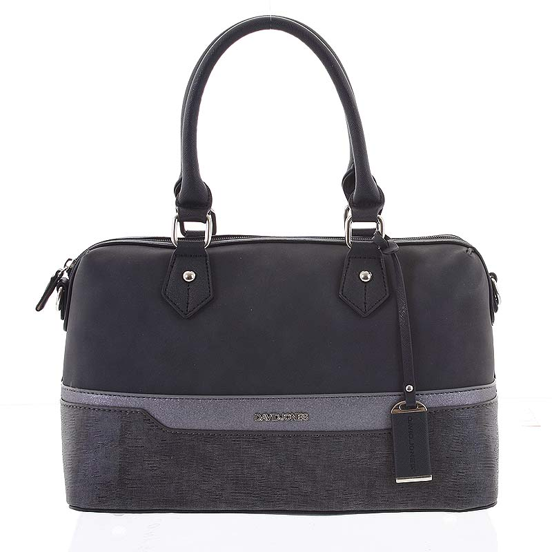 Moderná čierna dámska kabelka do ruky - David Jones Lorelei čierna