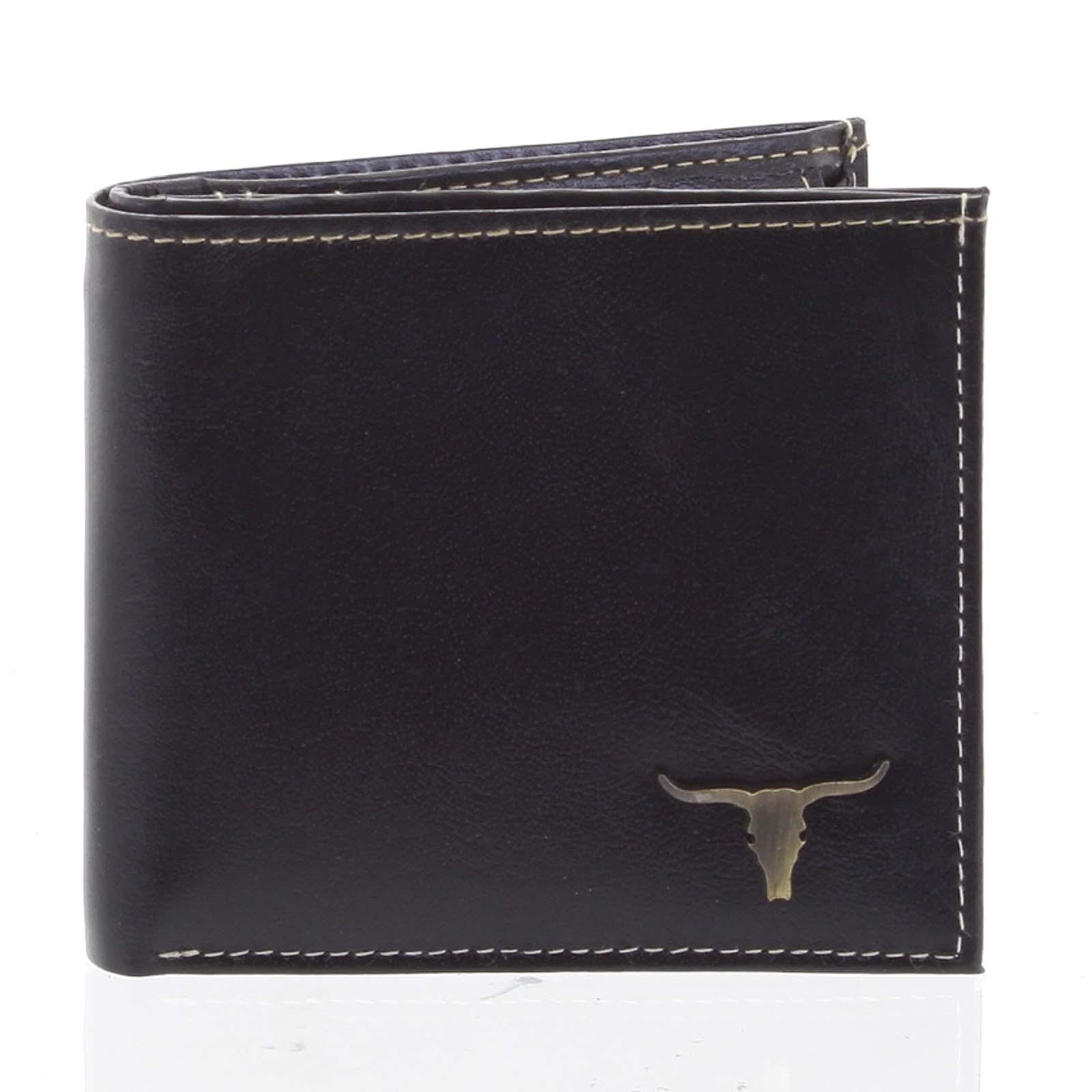 Pánska kožená peňaženka čierna - BUFFALO Philip čierna