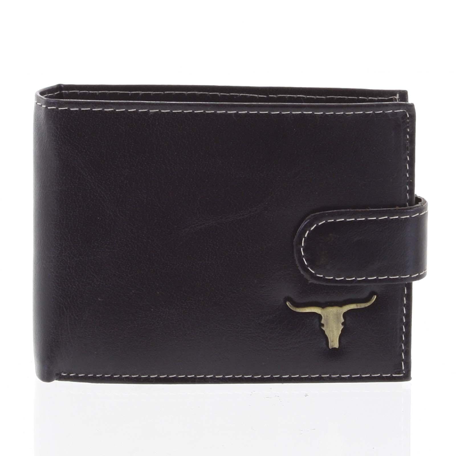 Najpredávanejšie pánska kožená peňaženka čierna - BUFFALO Stephen čierna