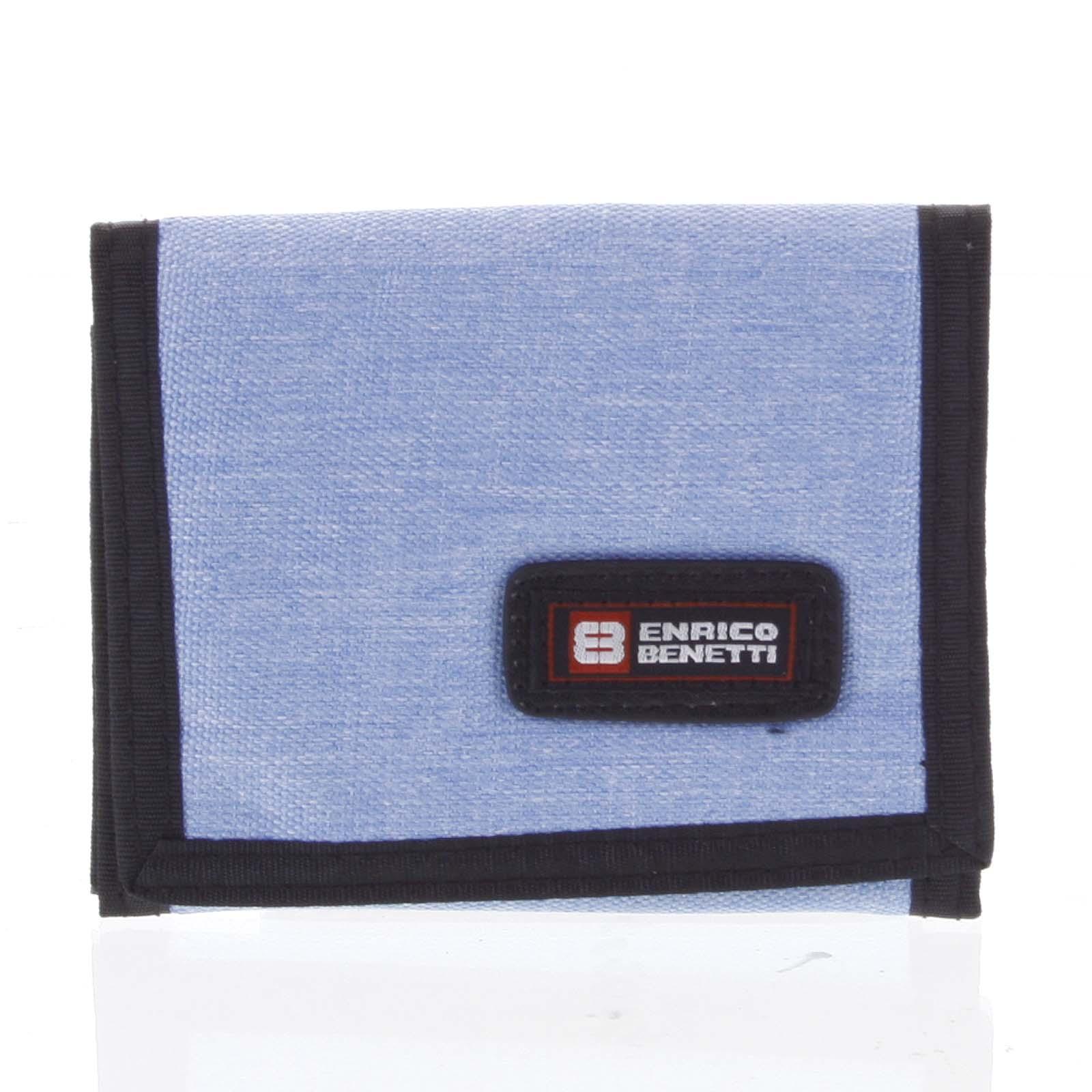 Peňaženka látková svetlomodrá - Enrico Benetti 4600 modrá