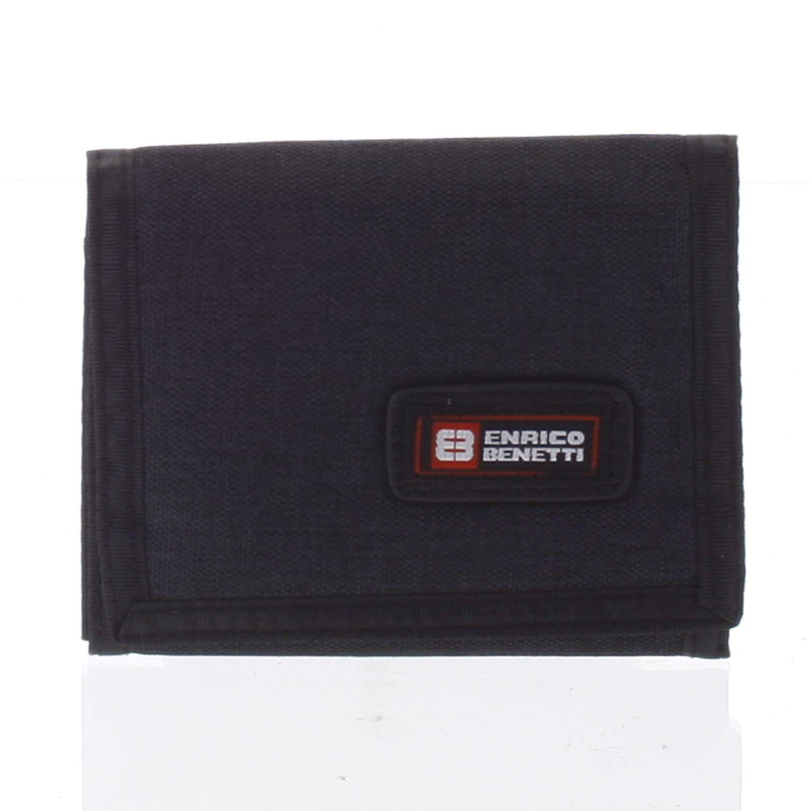Peňaženka látková čierna - Enrico Benetti 4600 čierna