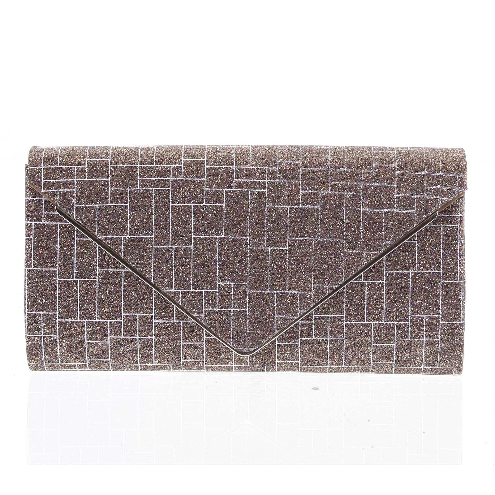Elegantná dámska listová kabelka hnedá - Michelle Moon HightWay hnedá