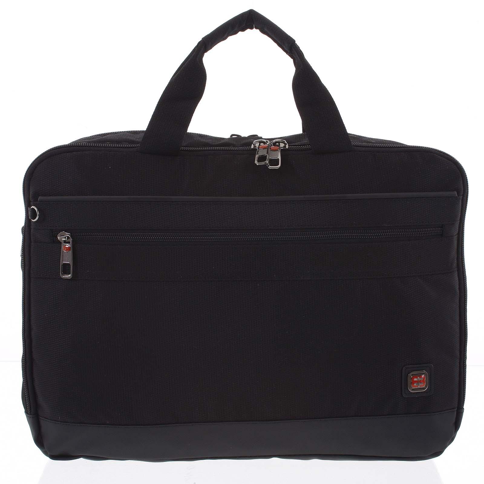 Čierna taška na notebook - Enrico Benetti Sarwar čierna