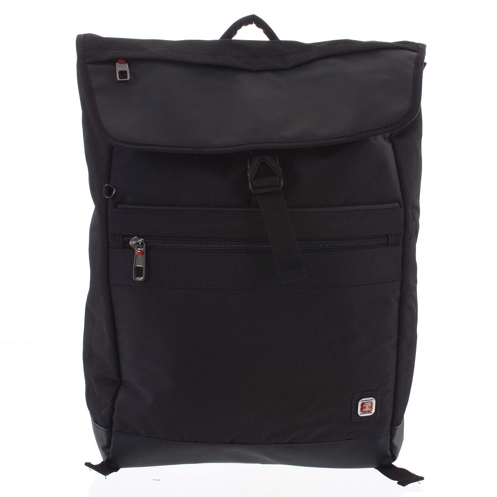 Veľký čierny batoh - Enrico Benetti Sanjar čierna