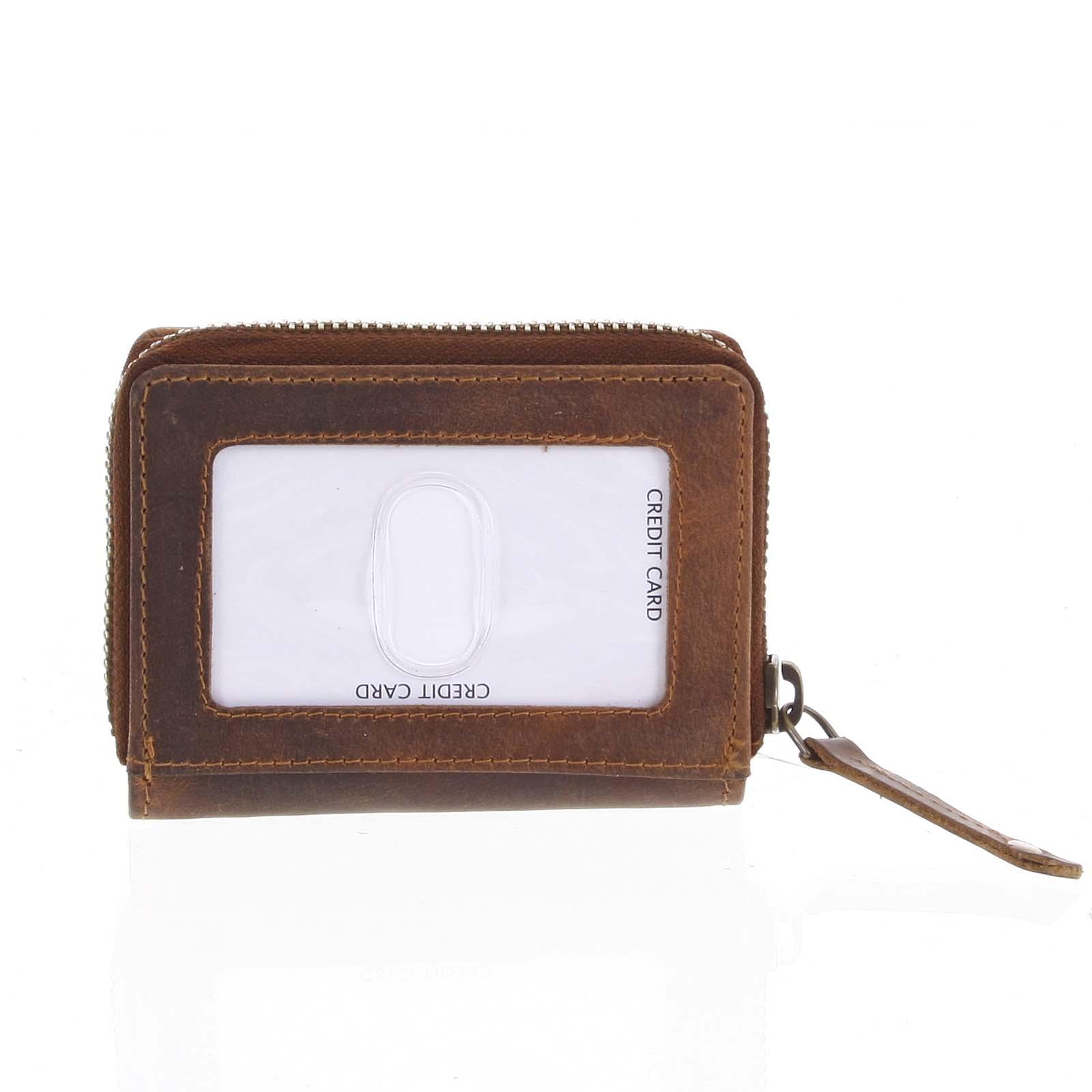 Kožená peňaženka hnedá - Tomas Omcane hnedá