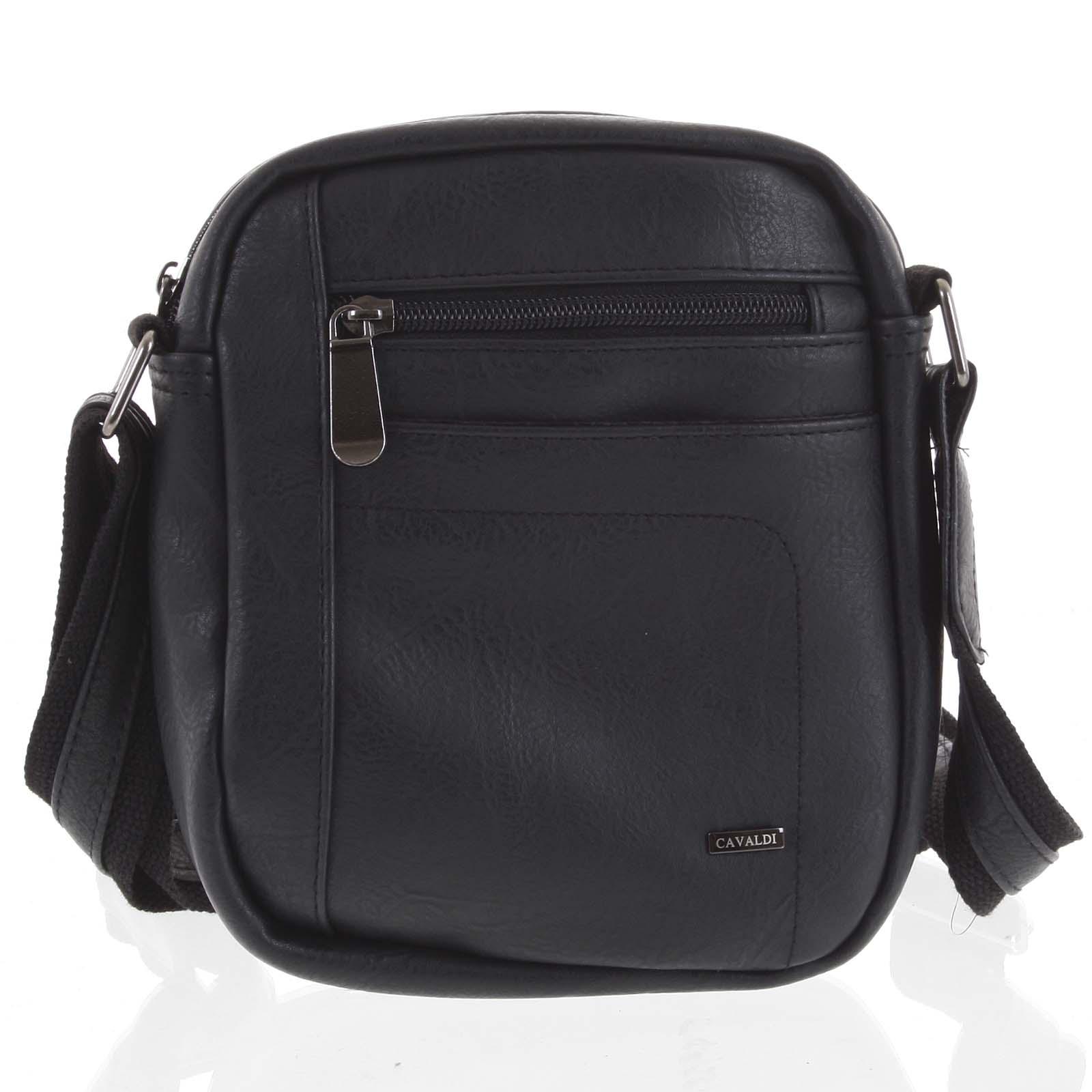 Pánska taška na doklady čierna - Cavaldi 8022 čierna