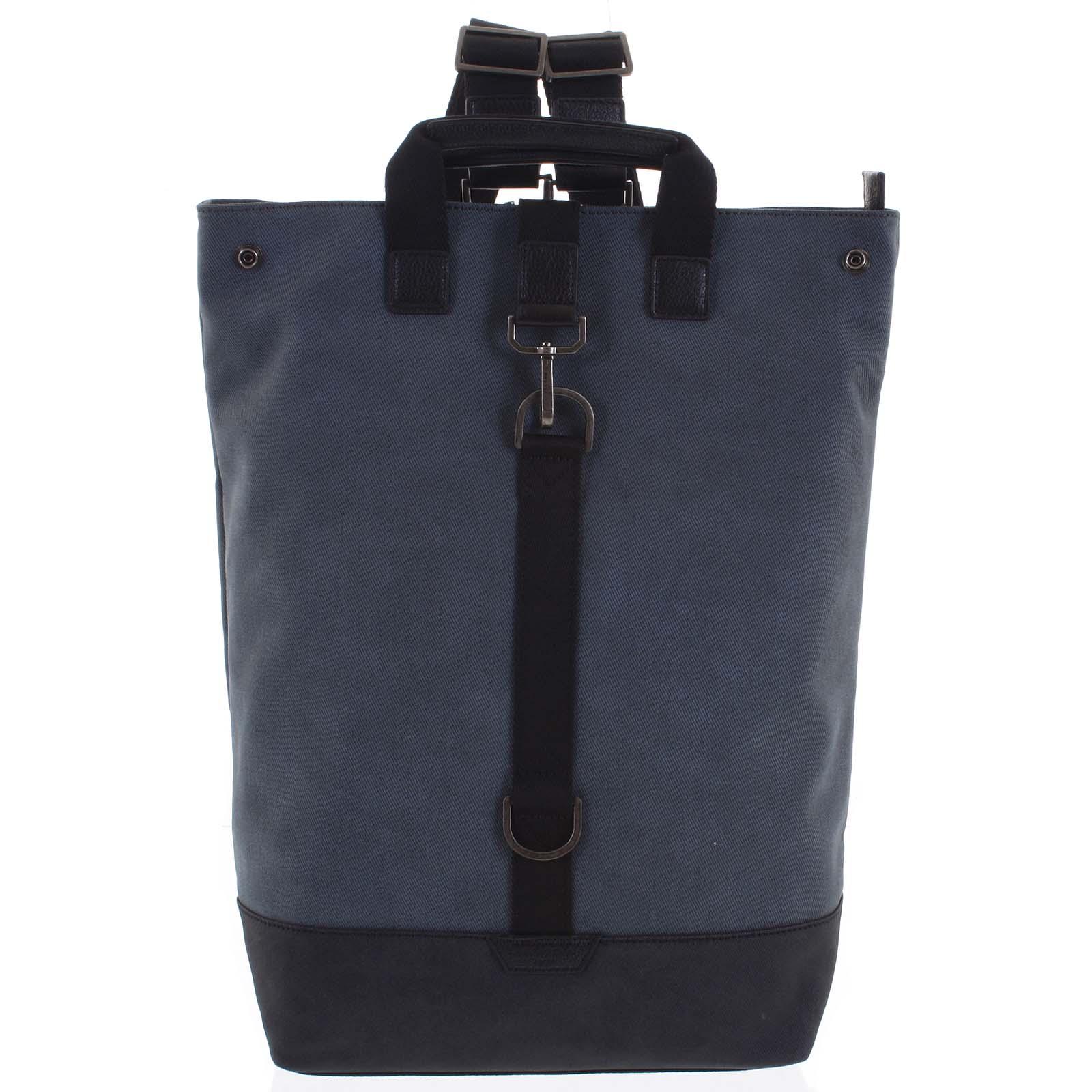 Pánsky veľký batoh modrý - Hexagona Adrien modrá
