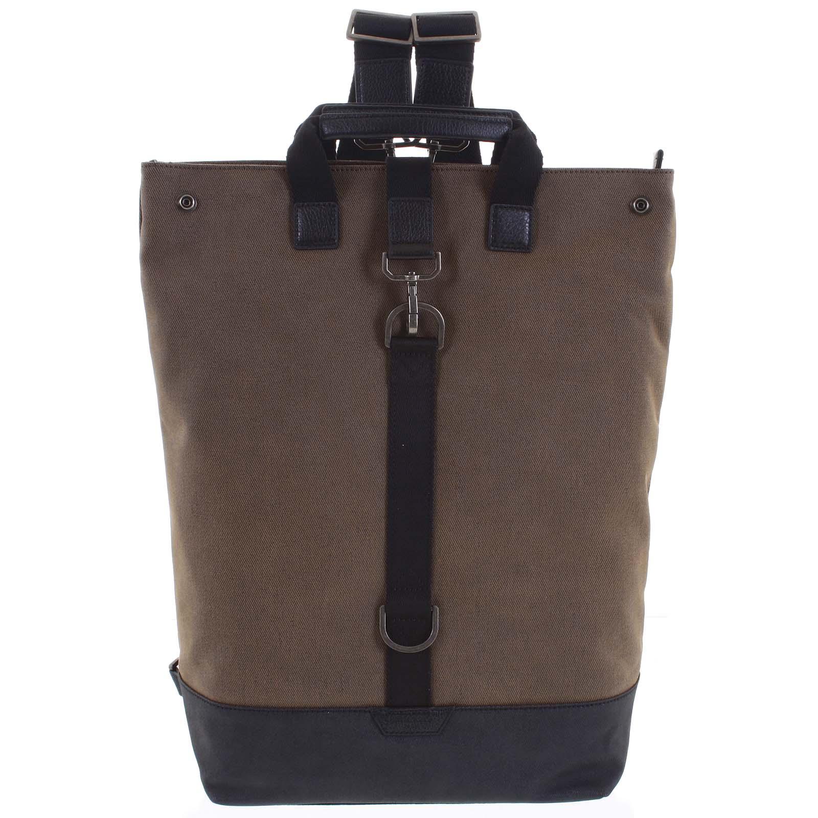Pánsky veľký batoh hnedý - Hexagona Adrien hnedá