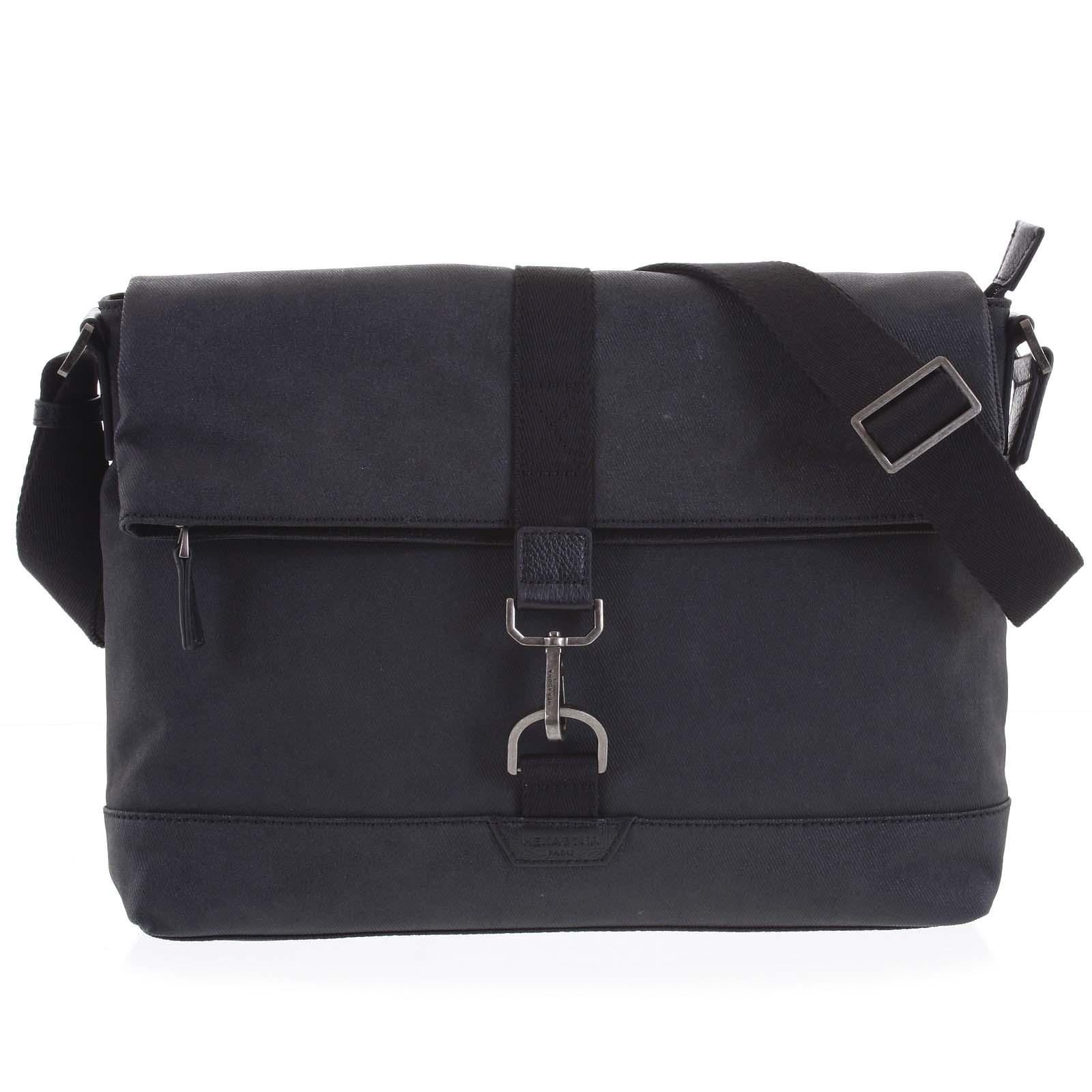Pánska taška na notebook čierna - Hexagona Cladrien čierna