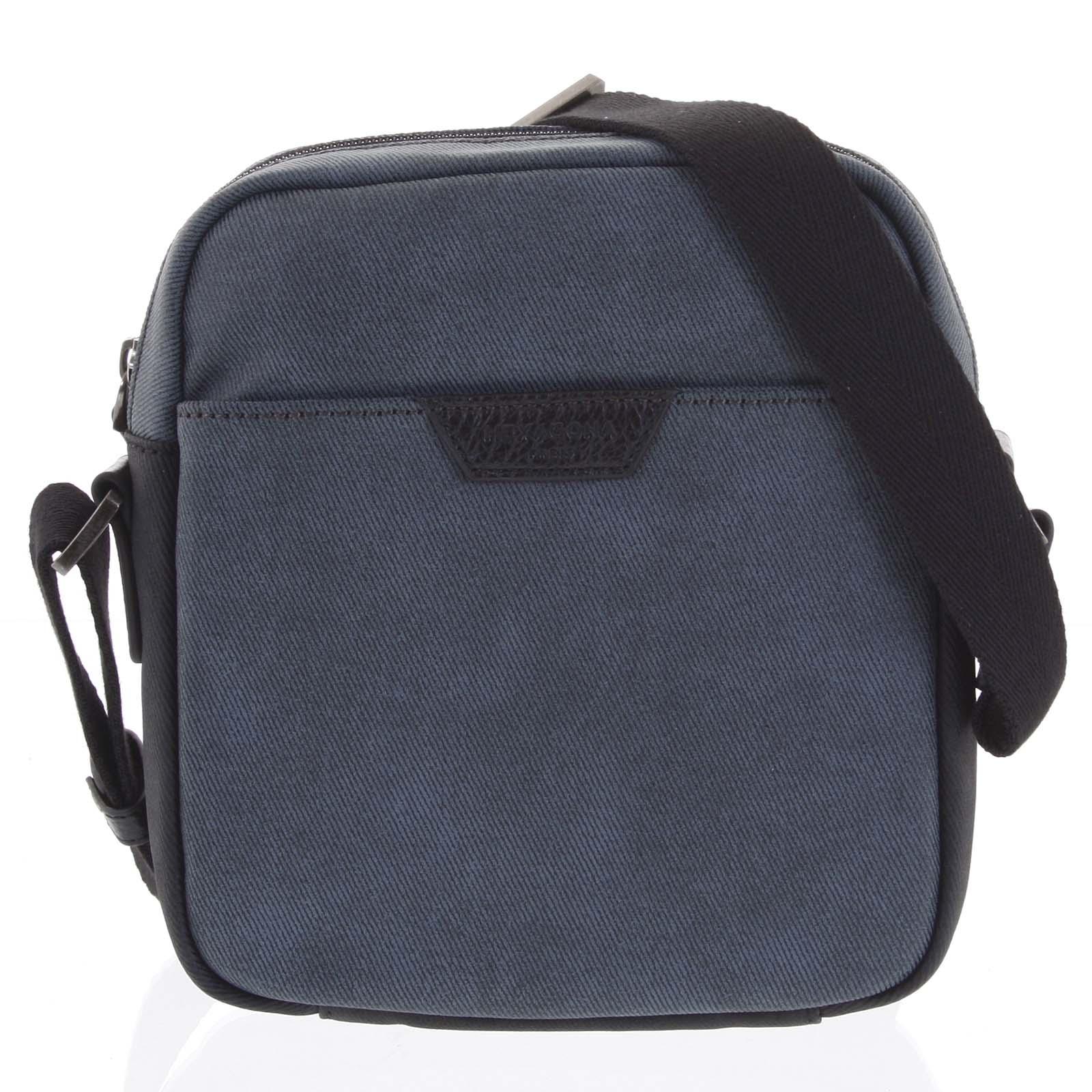 Pánska taška cez plece modrá - Hexagona Clark modrá