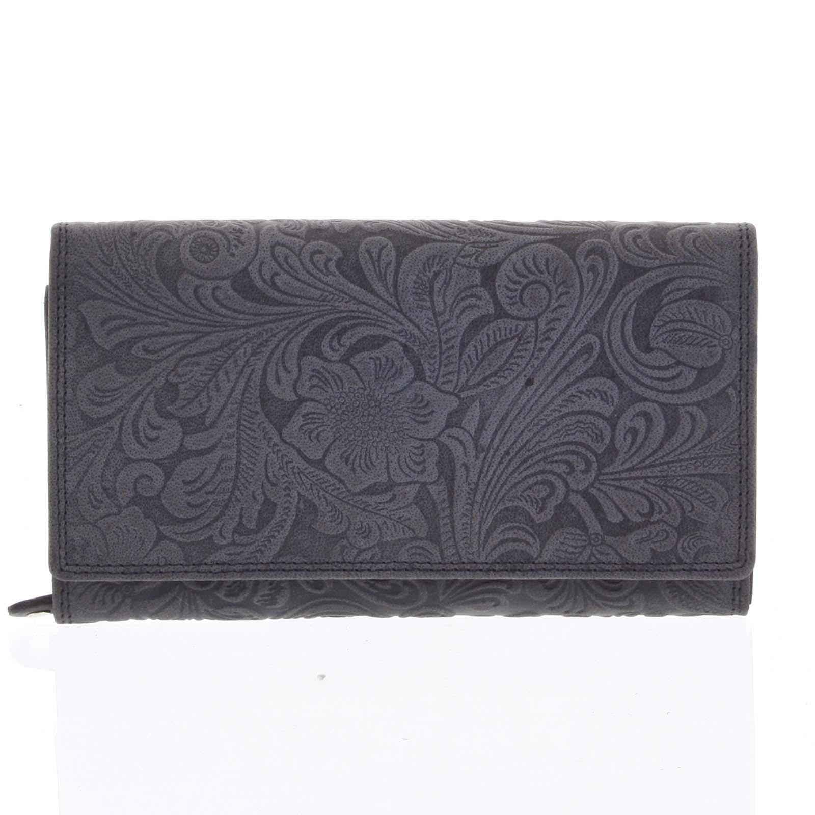 Dámska kožená peňaženka čierna - Tomas Imbali čierna