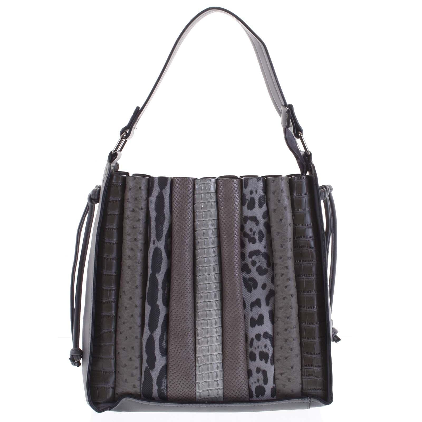 Dámska kabelka cez rameno tmavo šedá - Dudlin Pruet šedá