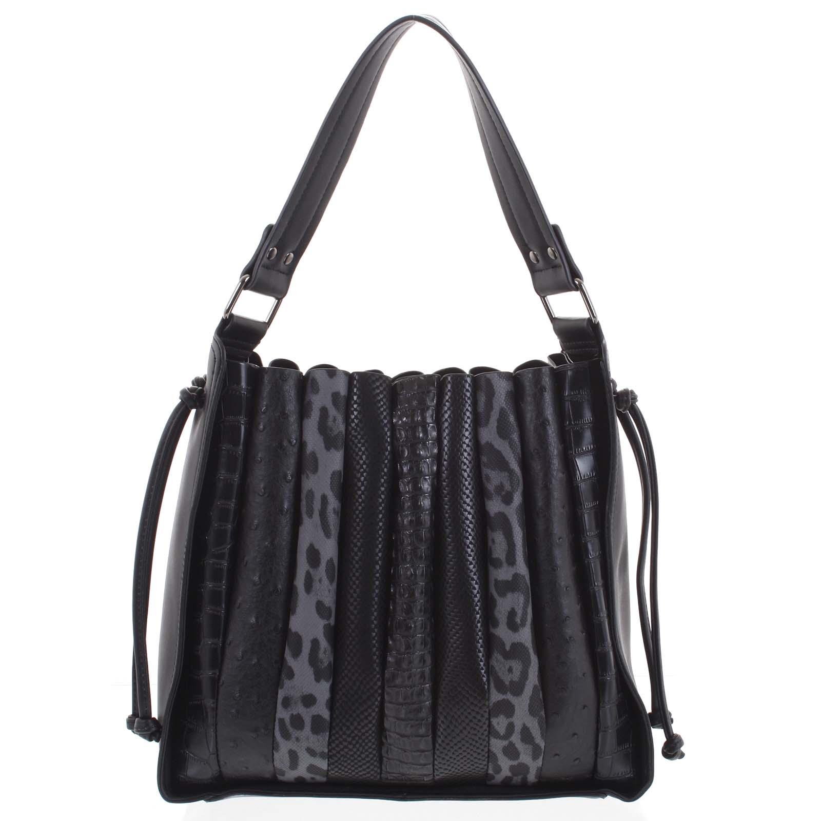 Dámska kabelka cez plece čierna - Dudlin Pruet čierna