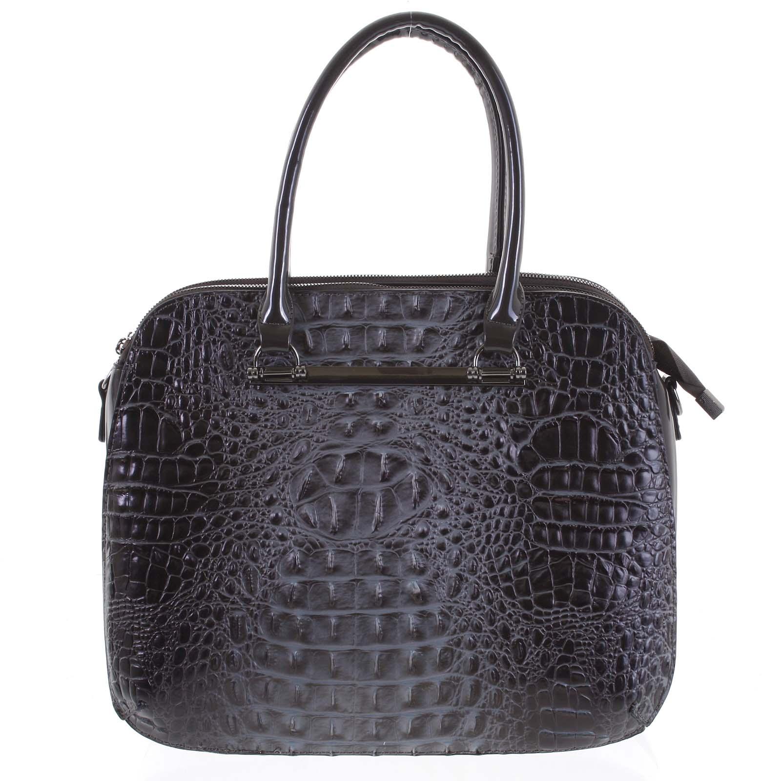 Dámska kabelka do ruky tmavo šedá - Dudlin Lexi šedá