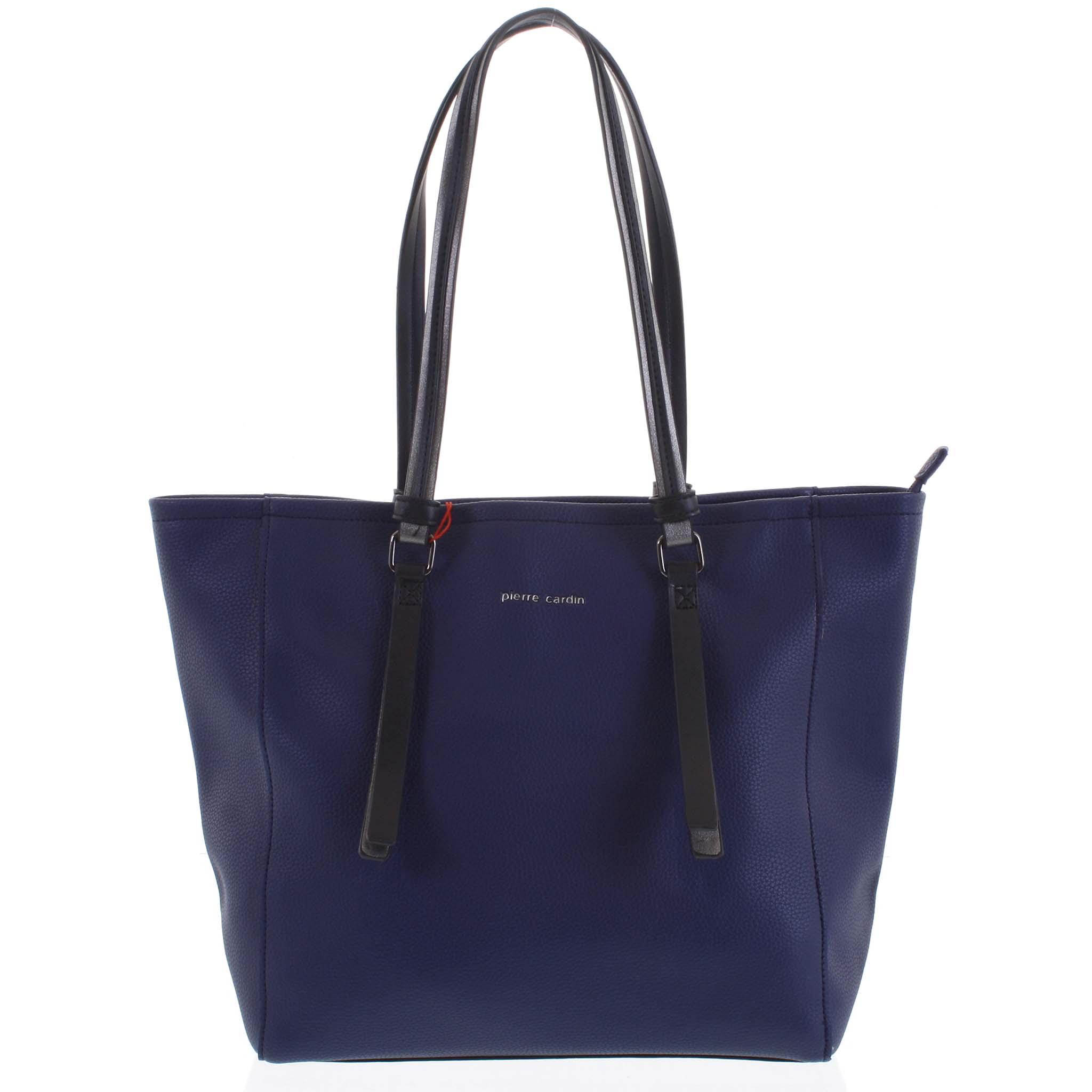 Dámska kabelka cez rameno tmavo modrá - Pierre Cardin Hermiona tmavo modra