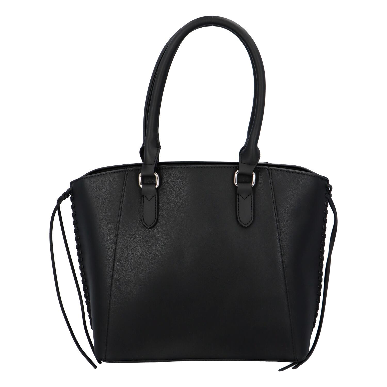 Dámska elegantná kabelka čierna - DIANA & CO Spinny čierna