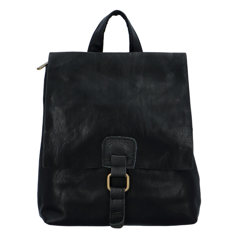 Dámsky batôžtek kabelka čierny - Paolo Bags Najibu čierna