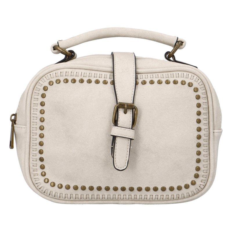 Dámska originálna kabelka svetlo béžová - Paolo Bags Sami béžová