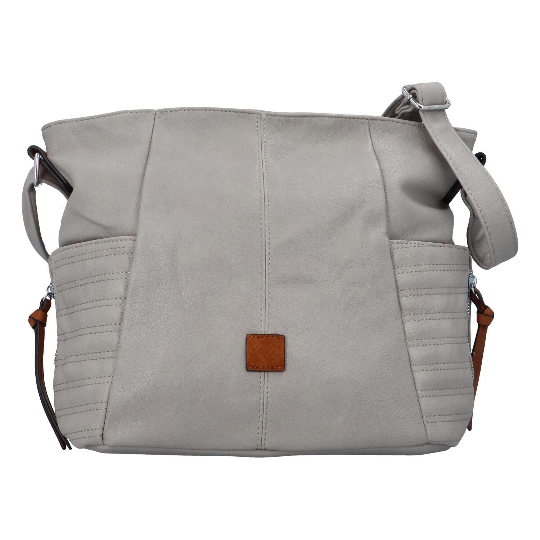 Dámska kabelka cez rameno šedá - Paolo Bags SaMi šedá