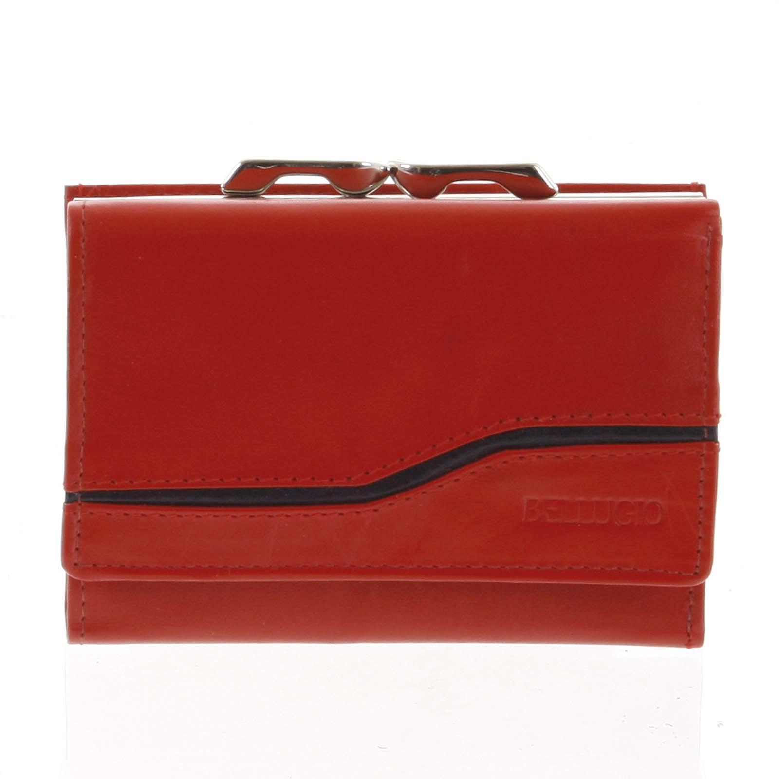 Dámska kožená peňaženka červená - Bellugio Tarea červená