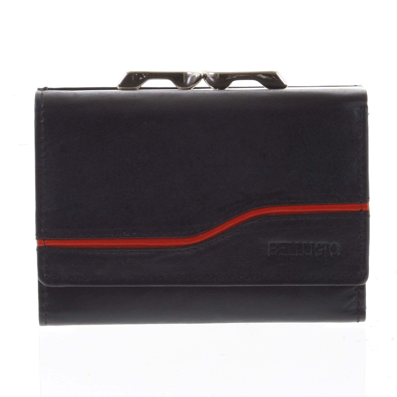 Dámska kožená peňaženka čierna - Bellugio Tarea čierna