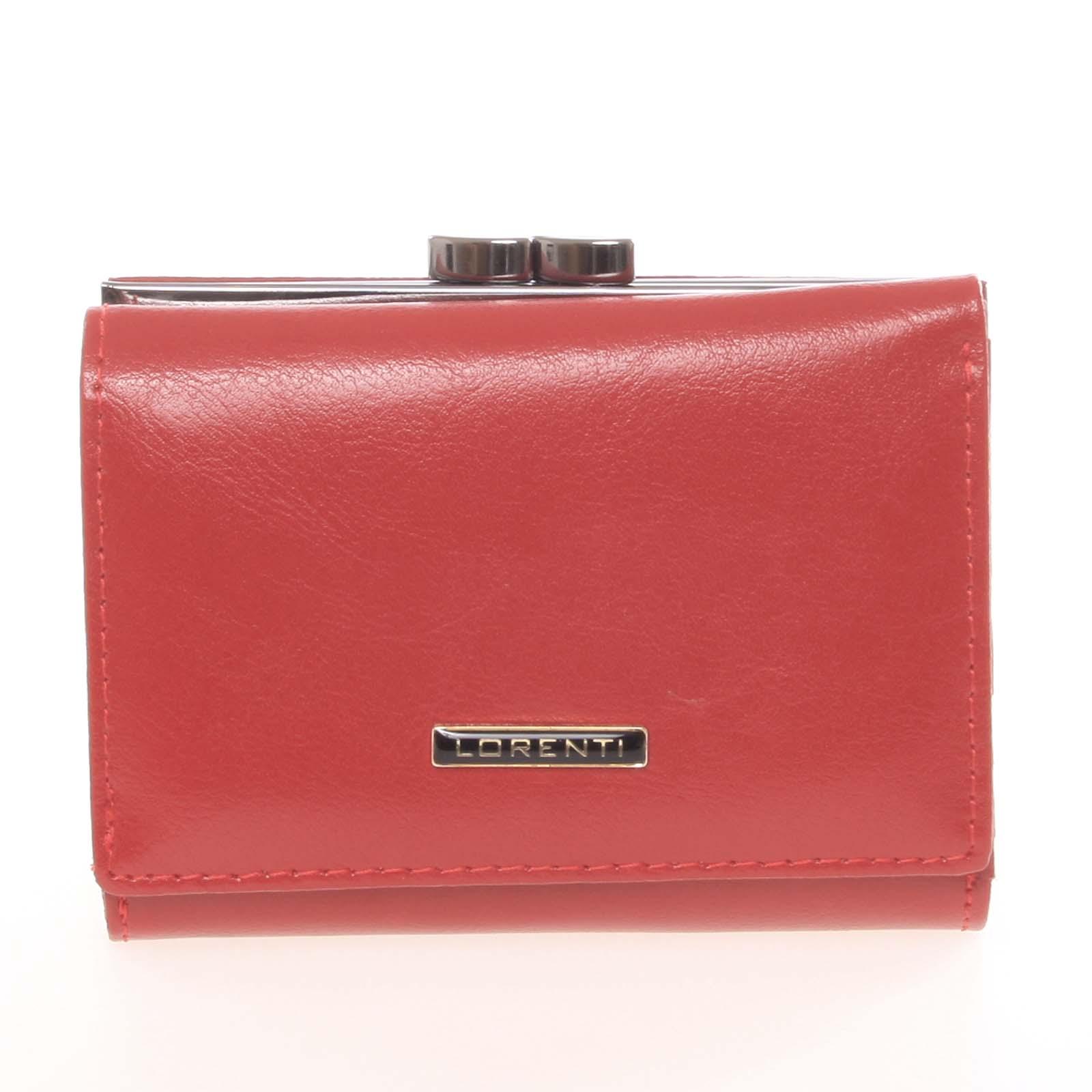 Dámska červená retro peňaženka - Lorenti 1509 červená