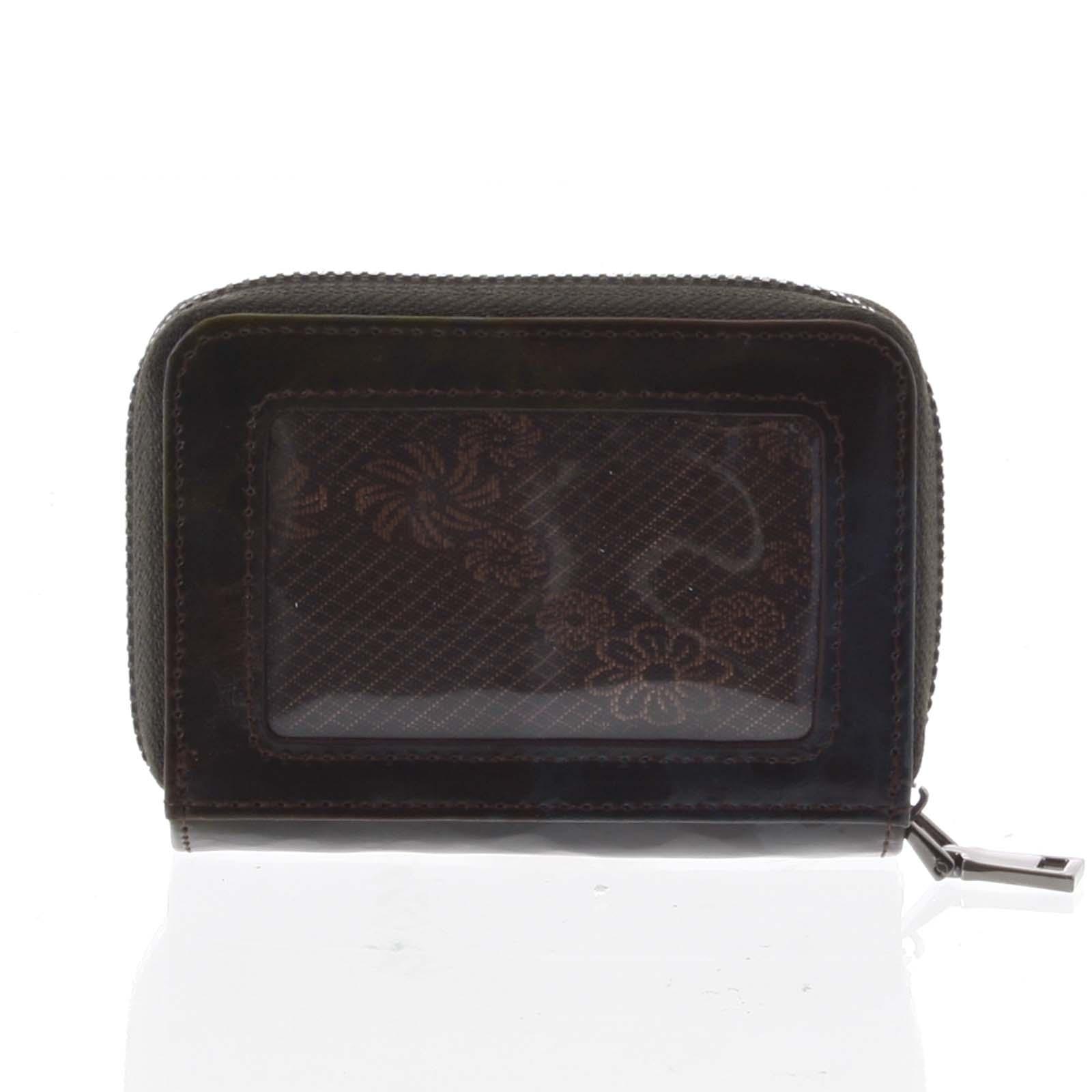 Malá dámska peňaženka kožená čierna - Rovicky 5157 čierna