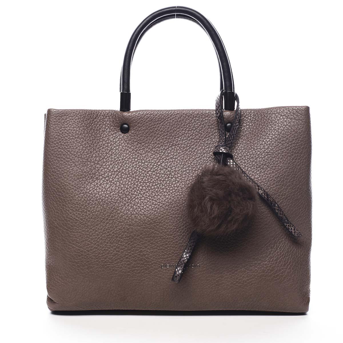 Dámska kabelka do ruky hnedá - Pierre Cardin Krimea hnedá