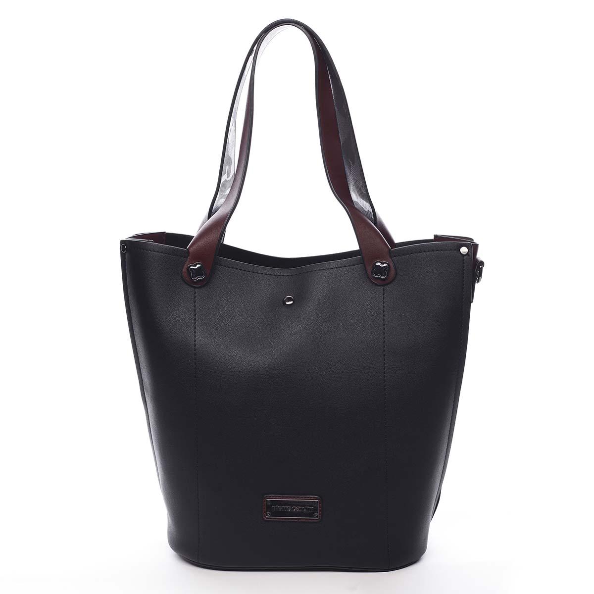 Dámska kabelka čierna - Pierre Cardin Avrill čierna